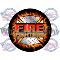 fire FIGHTERS decal
