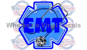 star of life emt decal