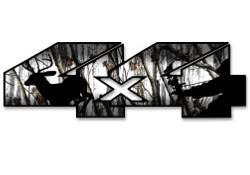 4x4 snow camo shadow bow hunter