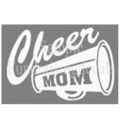 Cheer Megaphone Mom & more options