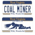 Coal Miner - Auto Tag decal