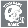 Team Name Helmet