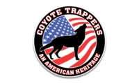 "5"" Printed - Coyote Trappers American Heritage"