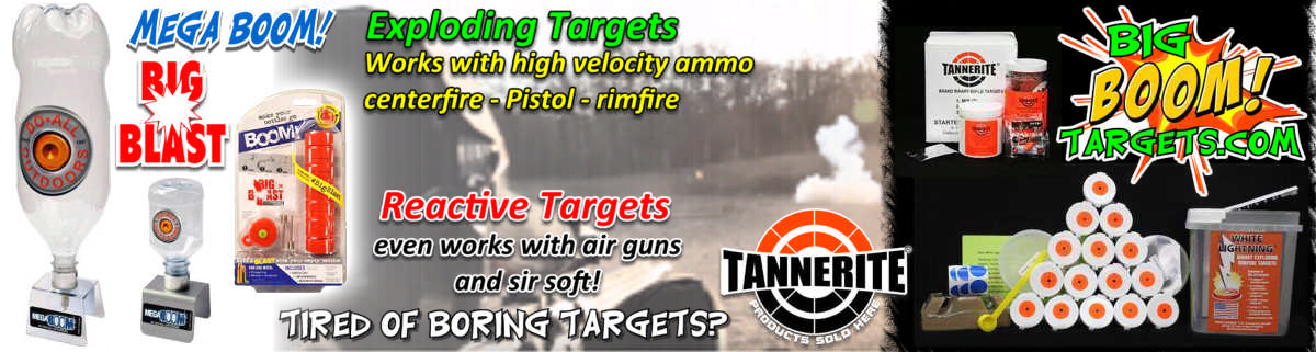 exploding re active targets