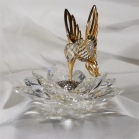 Swarovski crystal humming bird