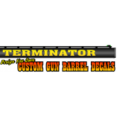 custom gun barrel decals