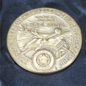 American legion school bronze coin