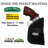 UNCLE MIKES inside pocket holster size 3