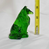 mosser glass collie dog hunter green
