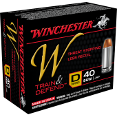 winchester 40 s&w train & defend