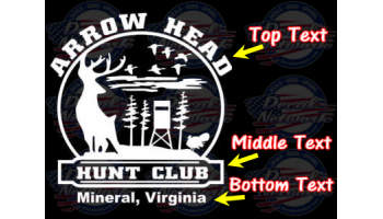 decals for hunting clubs
