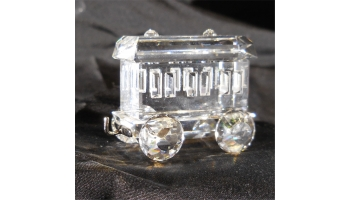 Swarovski Crystal Train Set