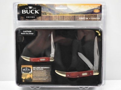 Buck kife knives tooth pick set 388 385