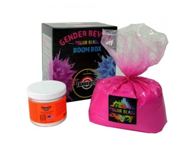 Tannerite Gender reveal boom box targets