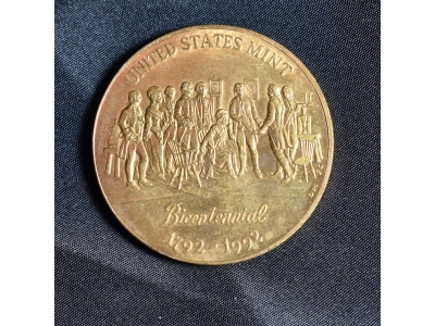 united states mint bicentenial bronze coin
