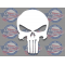 punisher skull decal