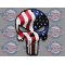 punisher skull decal American flag