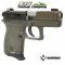 Diamondback DB380ODGSGNST Exclusive Ameri-Glo Night Sights Olive Drab Green - Cerakote Finish / Techna Clip