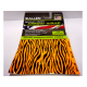 allen instant crest arrow wraps orange black zebra print