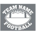 Team Name only Football